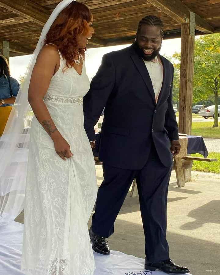 Still in wedding bliss 😊 1