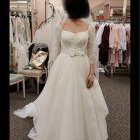 My sisters told me my wedding dress was hideous. - 1