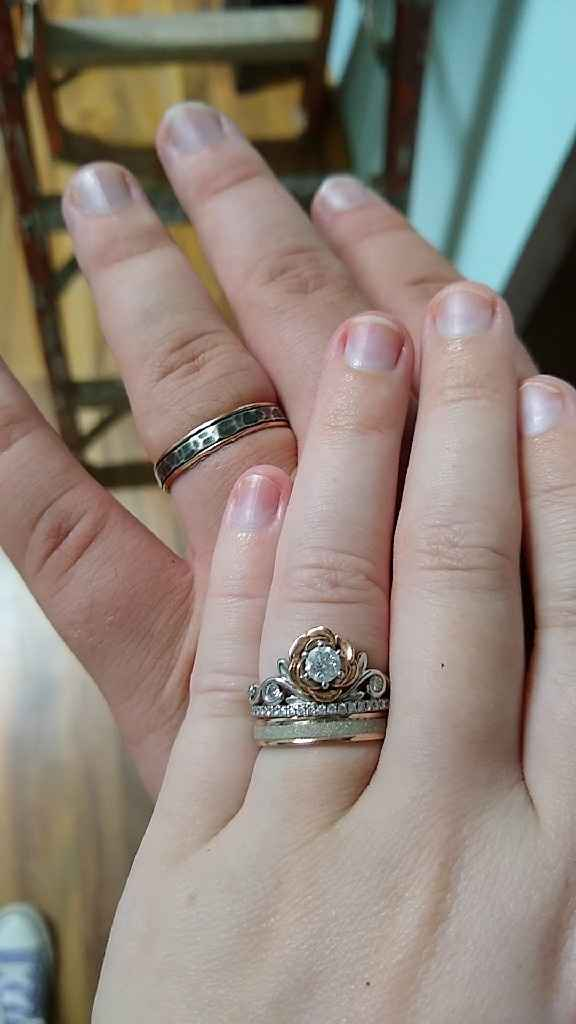 Wedding band for future hubby - 1