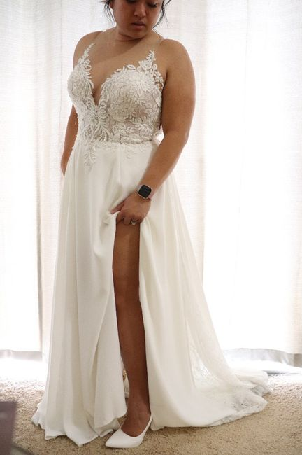 Falling more in love with your dress! 3