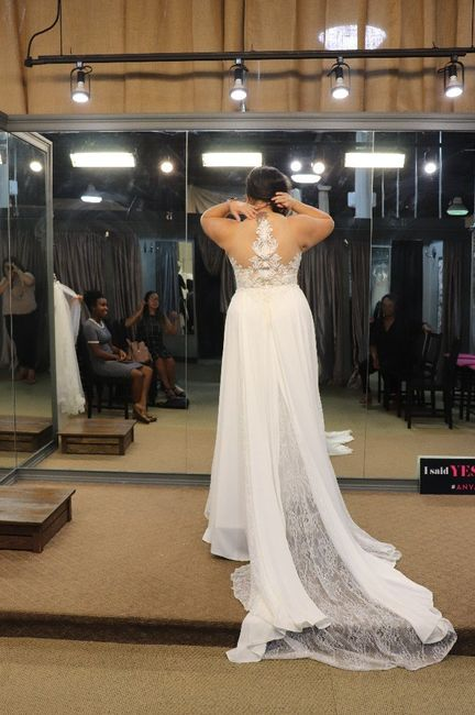 Falling more in love with your dress! 8