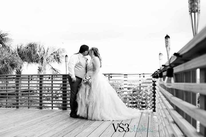 Show me your BEACH wedding dress!