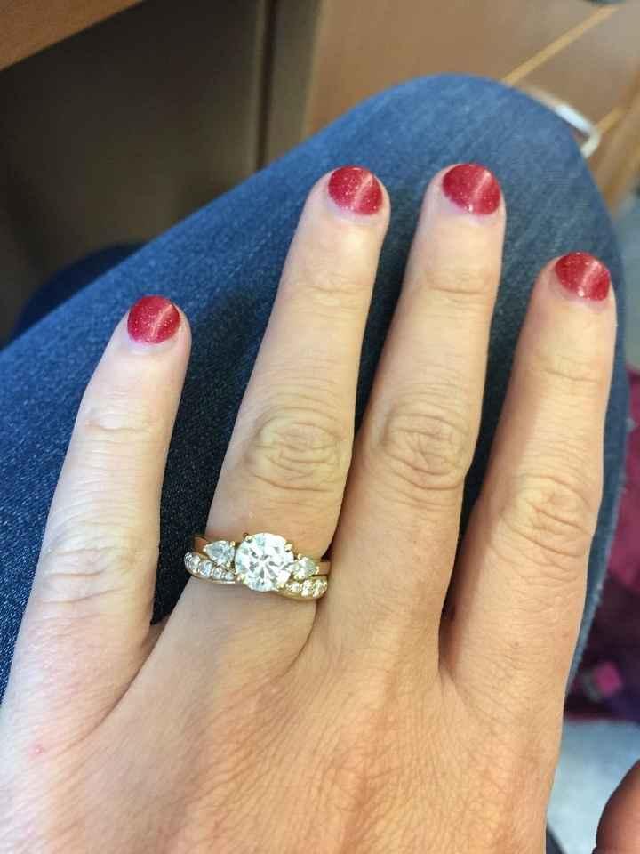 Band & Engagement Ring