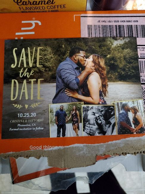 Got our Save the Dates!!! 3
