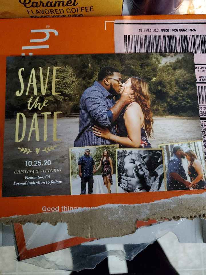 Got our Save the Dates!!! - 3