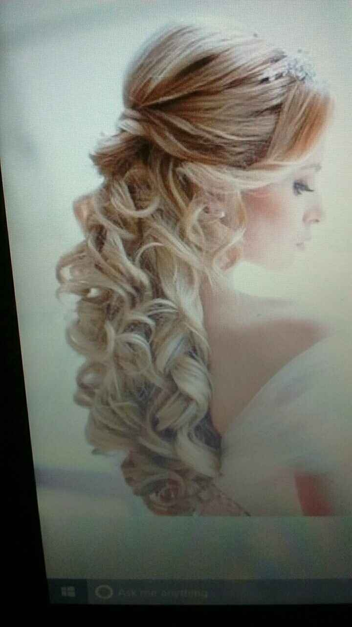 Veil or whatever would be beautiful with this hair style