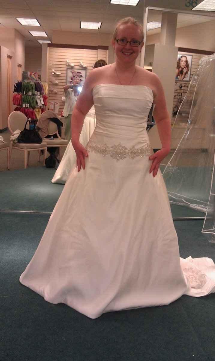 David's Bridal Brides - POST PICS OF YOUR DRESS!!!
