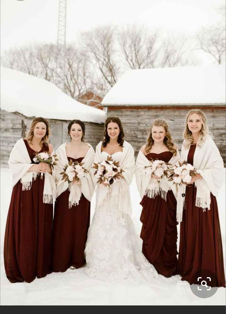 Winter wedding... not winter dress - 2