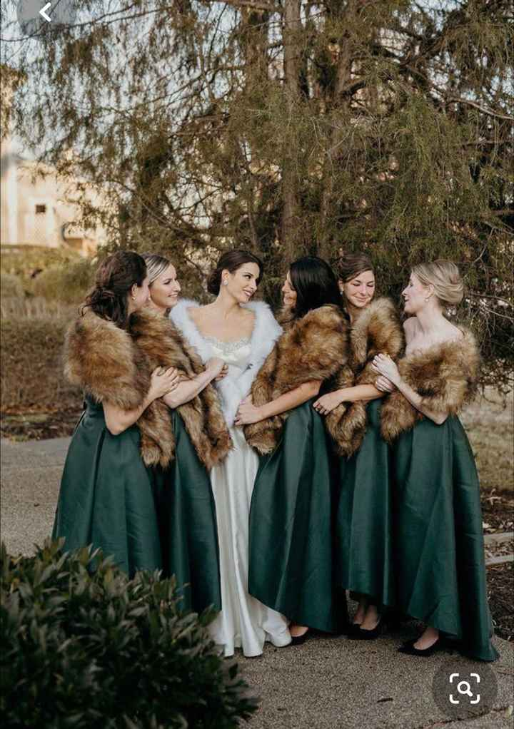 Winter wedding... not winter dress - 3