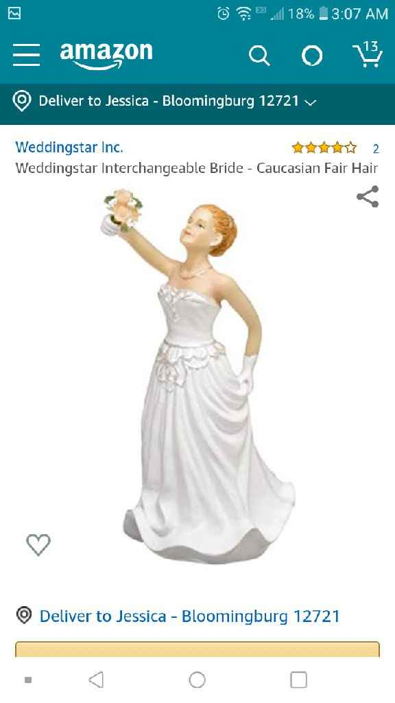 Interracial Cake Toppers? - 2