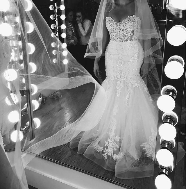 Petite brides Show your dresses! 11