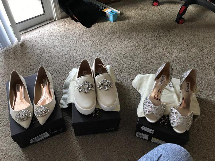 Flats, Sneakers, Heels? 1