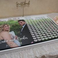 Guest Book and Ceremony Wands