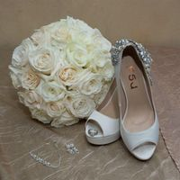 Bouquet, Wedding Shoes and accesories