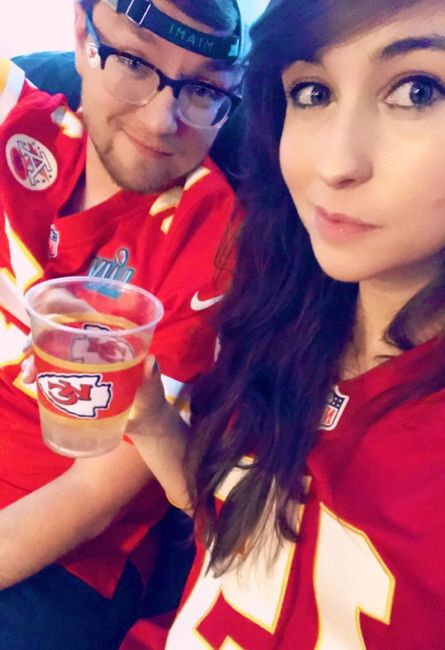 Let's see your favorite photos of you and your spouse! 14