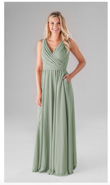 a35ba4ec92 Kennedy Blue - Sage stock Azazie vs. Kennedy Blue - Sage Bridesmaid Dresses  1
