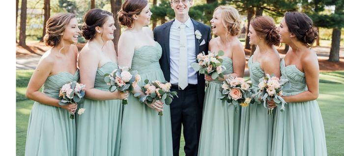 0510d03324 Azazie vs. Kennedy Blue - Sage Bridesmaid Dresses 2