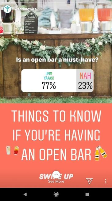 Open Bar is a Must?! - 1