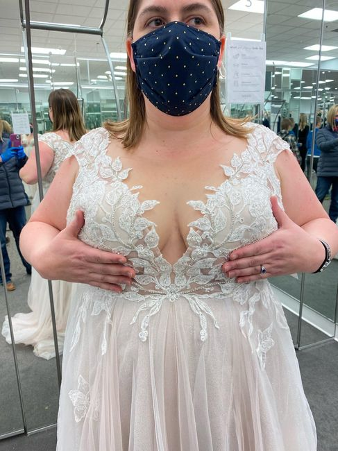 Illusion wedding alterations - 1
