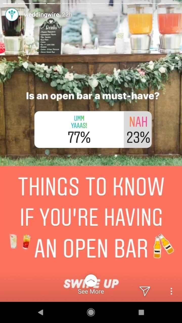 Open Bar is a Must?! - 1