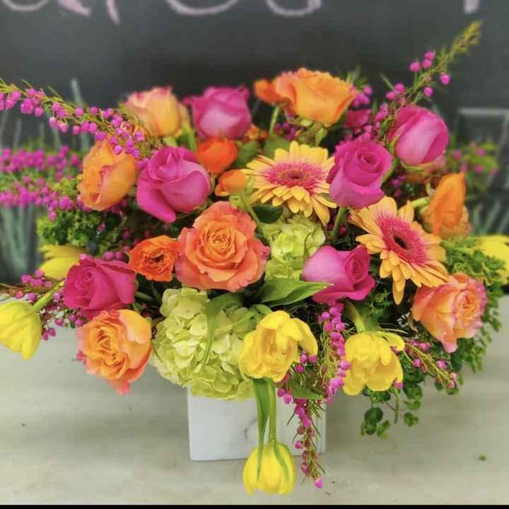 Flower color tone 1