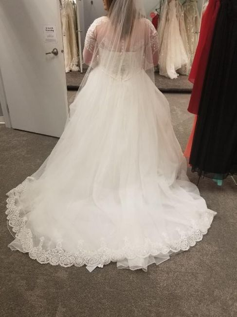What color is your wedding dress? 10