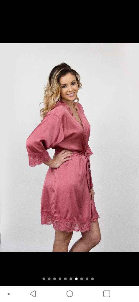 Long bridesmaid robes - 3
