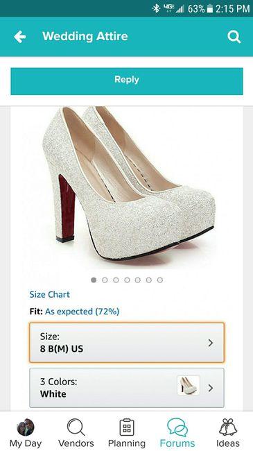 Help me pick shoes!! | Weddings, Wedding Attire | Wedding Forums