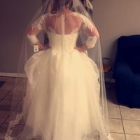 Bustle-tulle Dress - 1