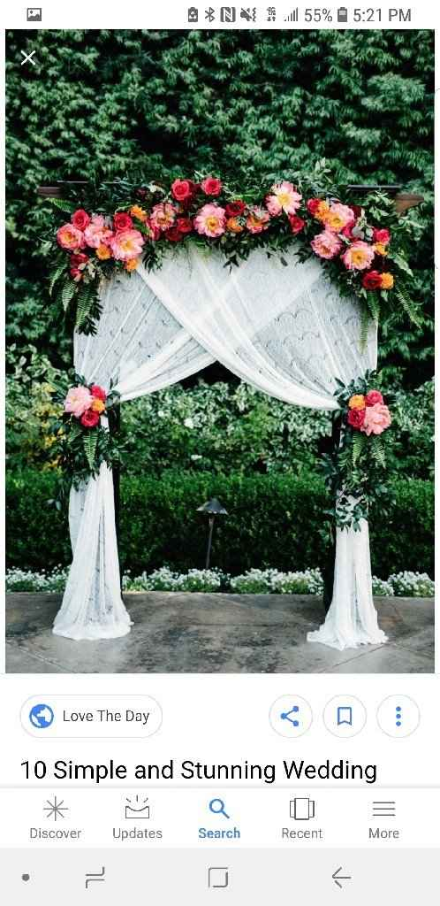 Are you diy ing your backdrop?? - 1
