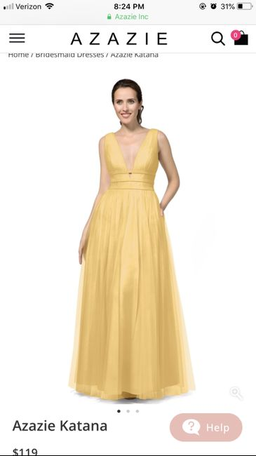 0b00d1bef55 Help! Gold bridesmaid dress! 3