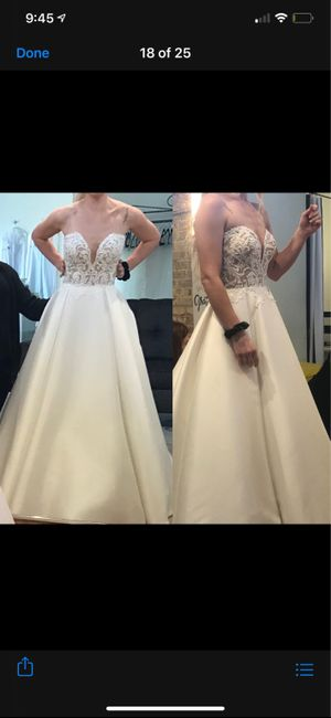 Wedding dress came in and it's not the same 2