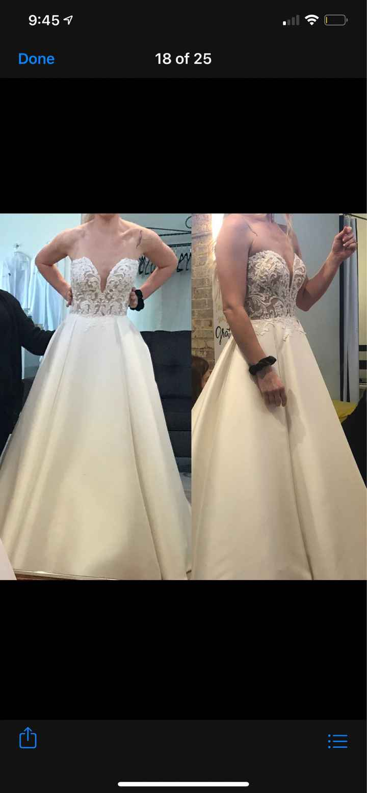 Wedding dress came in and it's not the same - 1