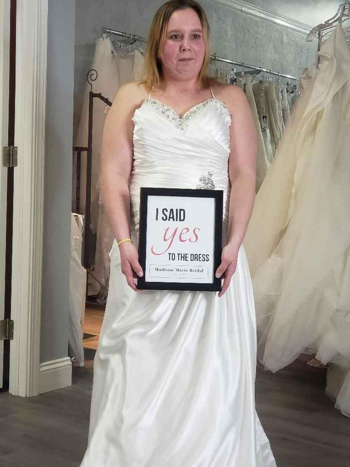 Wedding dress! - 1