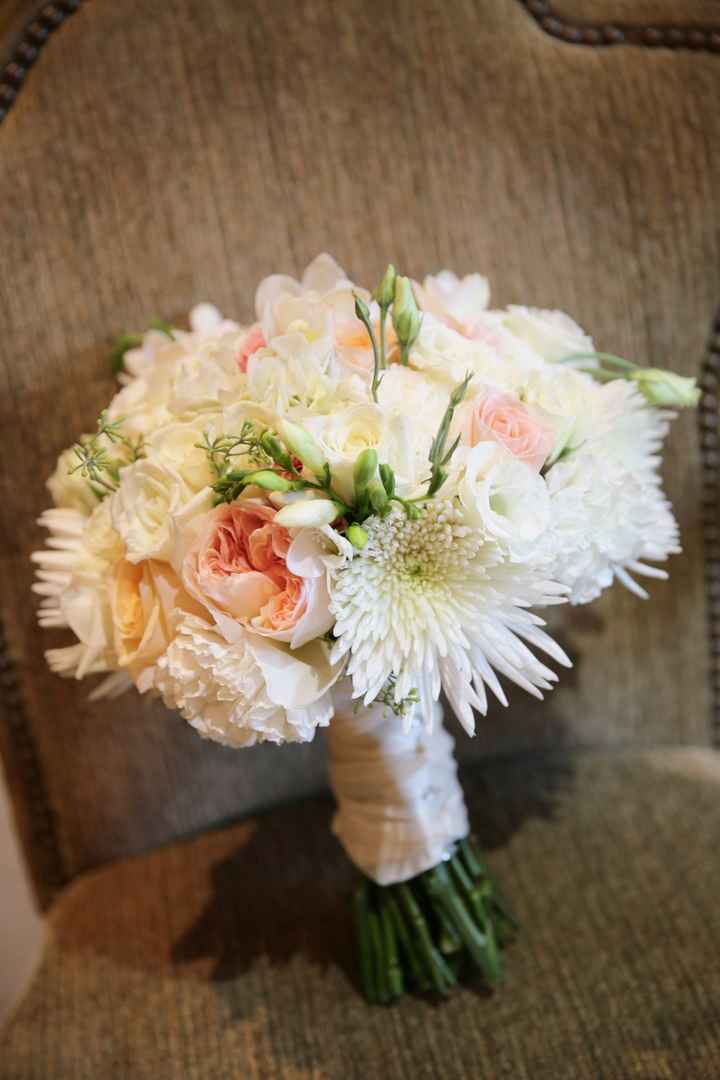 What did you/will you do with your bouquet? (Or just show it off!!)