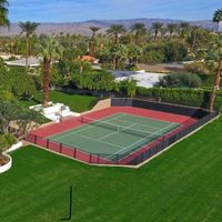 Tennis Court Reception
