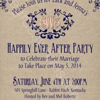 Small private destination wedding, larger party afterwards? - 2