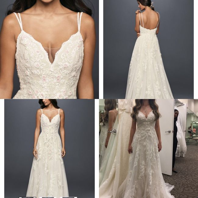 One of those i can 39 t decide on a dress weddings for Can t decide on wedding dress