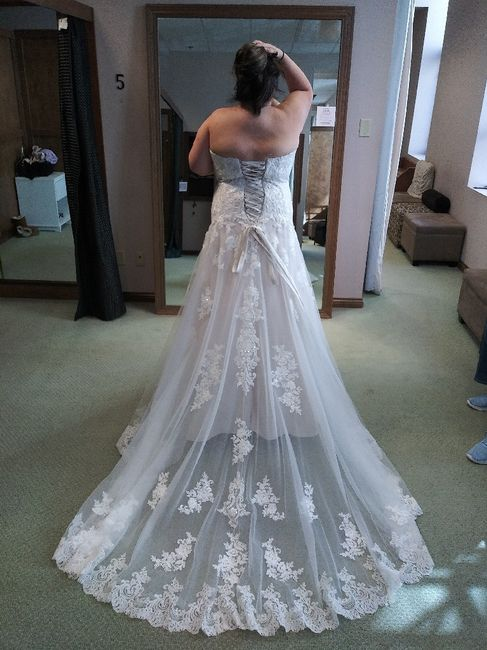 Wedding dress trains...yes or no? 5