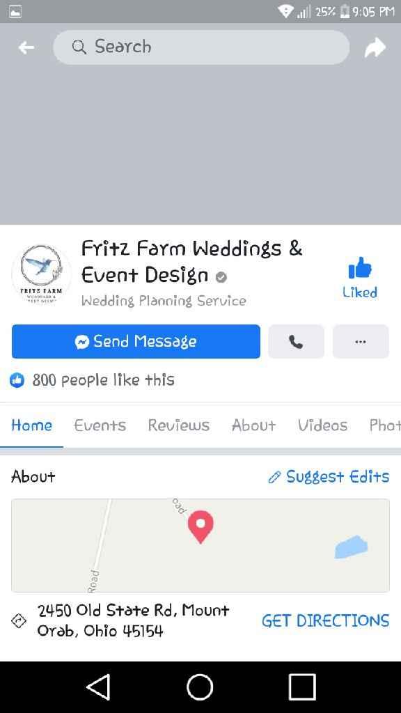 Wedding venue - 1