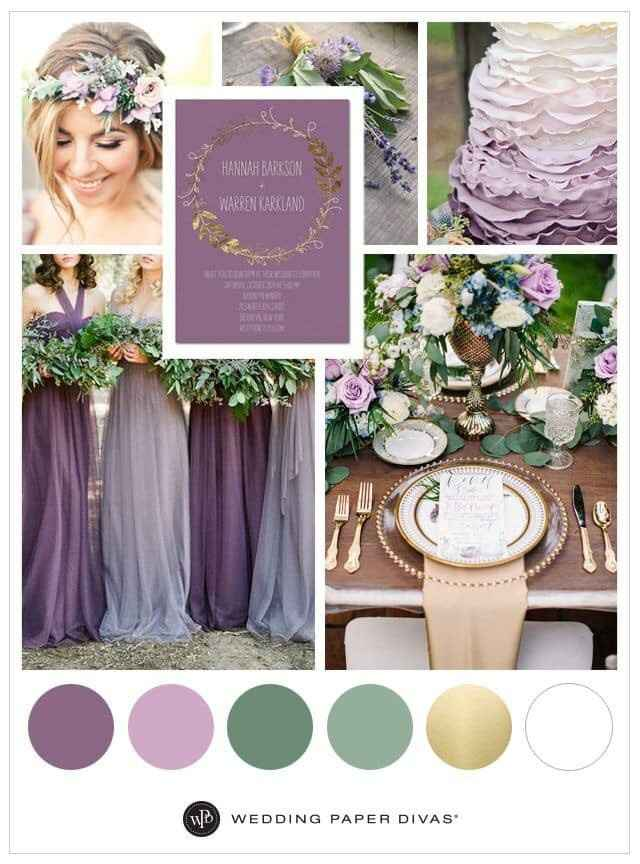Help!! Color schemes for wedding - 1