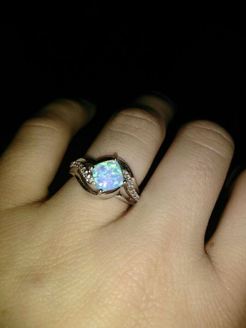 Who else has gemstones in their ring(s)?  Let's see them! 1