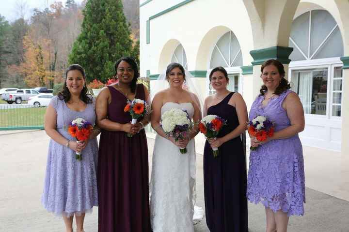 Mismatched Bridesmaids - 1