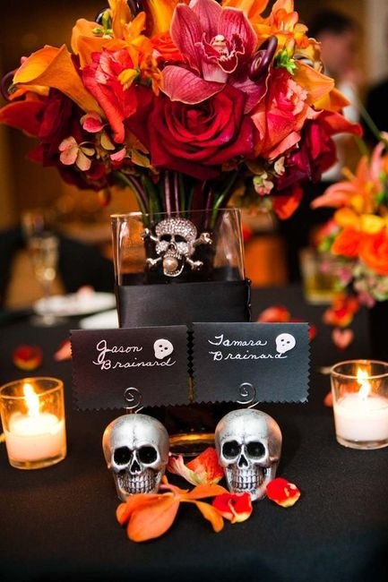 Halloween Wedding Centerpieces Weddings Style And Decor Wedding