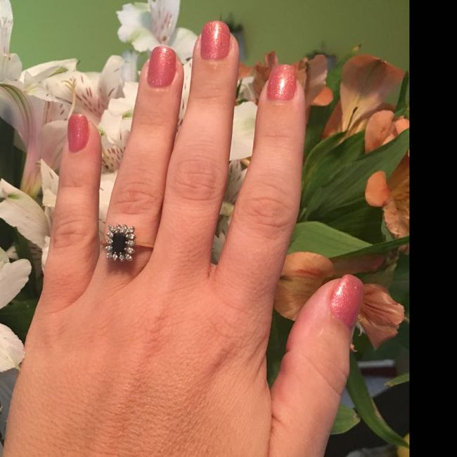 Your Engagement Ring: Total Surprise, Some Input, or Picked it Out Yourself? 10