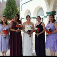 moh and bridesmaids dresses - 1