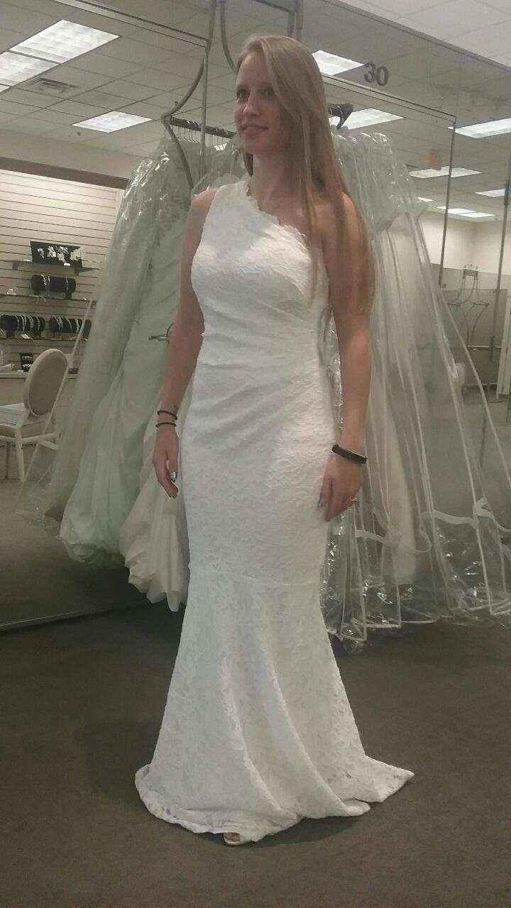 Wedding dress secured! - 2