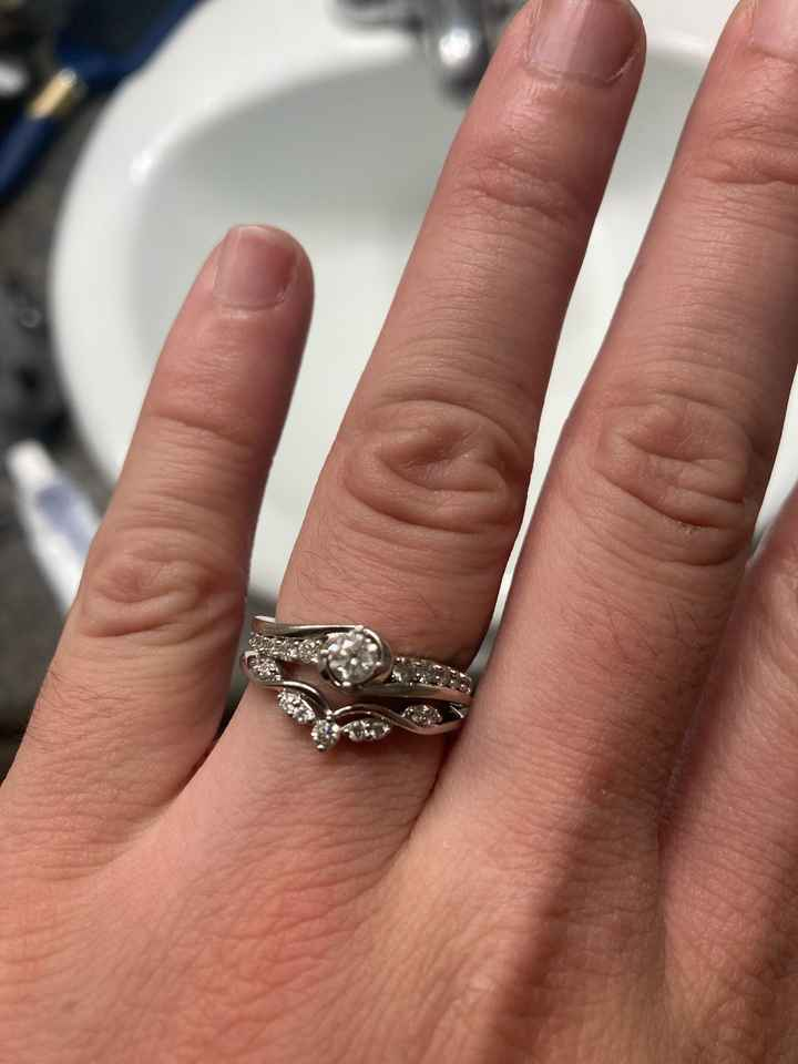 Panicked over wedding ring, is it tacky? - 3