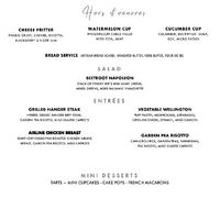 Let's all take a minute to drool over eachother's menus! What's on your menu? - 1