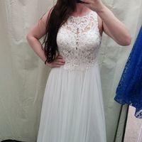 Anyone not bustle their dress? - 3